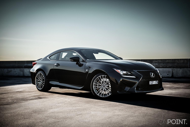2015 Lexus Rcf Black Onpoint